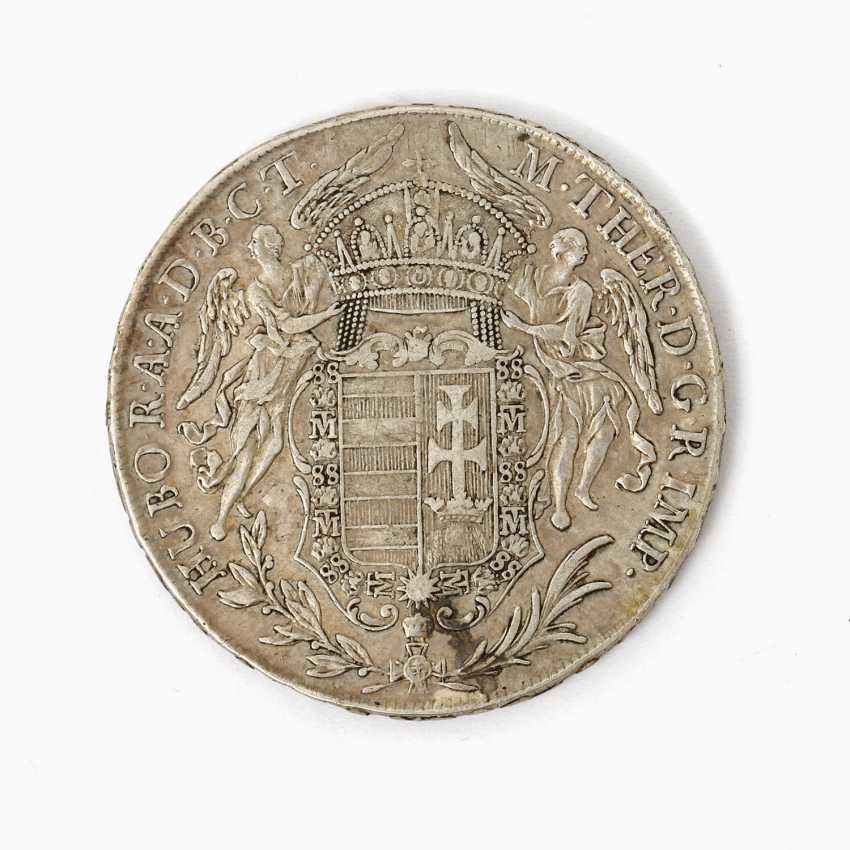 Habsburg - 1 Taler 1780 /B, Maria Theresia, ss., Patina, - photo 1