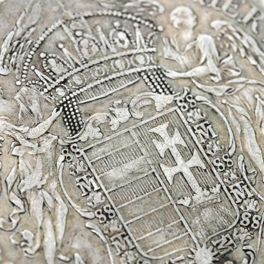 Habsburg - 1 Taler 1780 /B, Maria Theresia, ss., Patina, - photo 3
