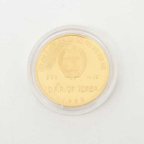Korea /Gold - 2500 Won 1988, 30th Anniversary of the Gorch Fock, - photo 2