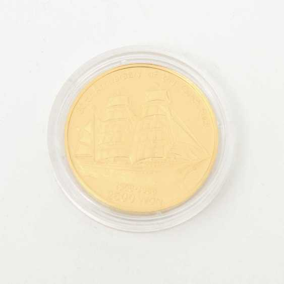 Korea /Gold - 2500 Won 1988, 30th Anniversary of the Gorch Fock, - photo 3