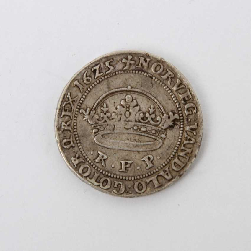 Denmark - crown (thick crown from the 1 /2 crown stamp) 1625, Christian IV, (1588-1648), - photo 1