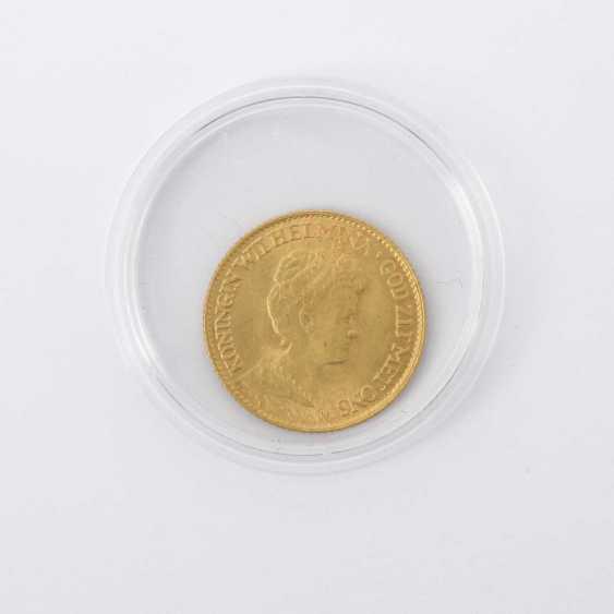 The Netherlands /GOLD 10 Gulden 1917, - photo 1
