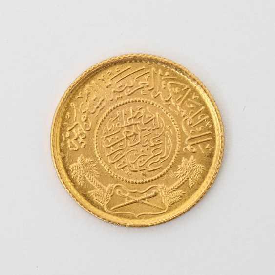 Saudi-Arabien /GOLD - 1 Guinea Gold, - photo 1