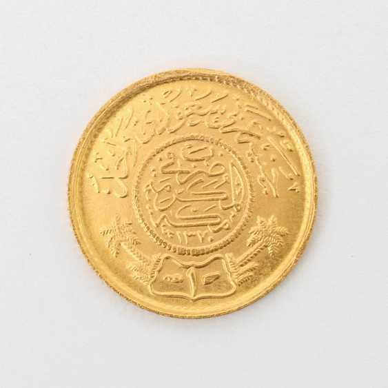 Saudi-Arabien /GOLD - 1 Guinea Gold, - photo 2