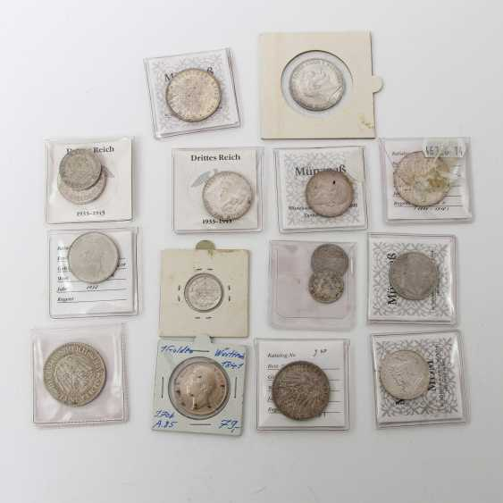 Dt. Rich - collection of 16 coins - photo 1