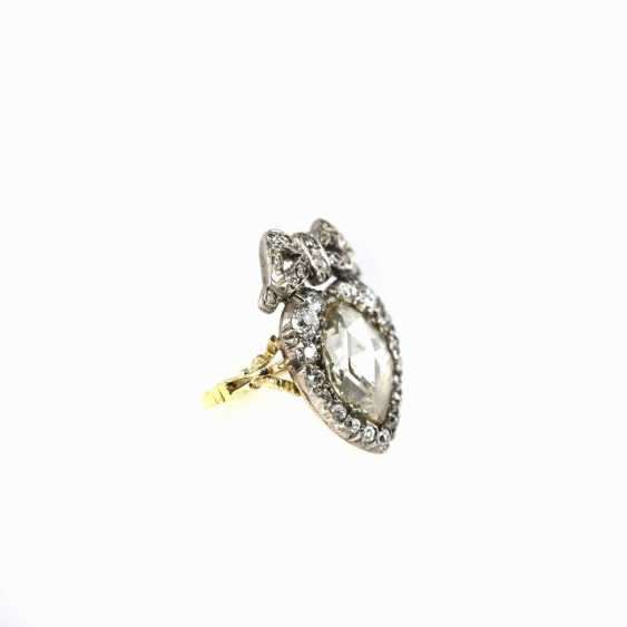 Antique heart shaped ladies ring - photo 2