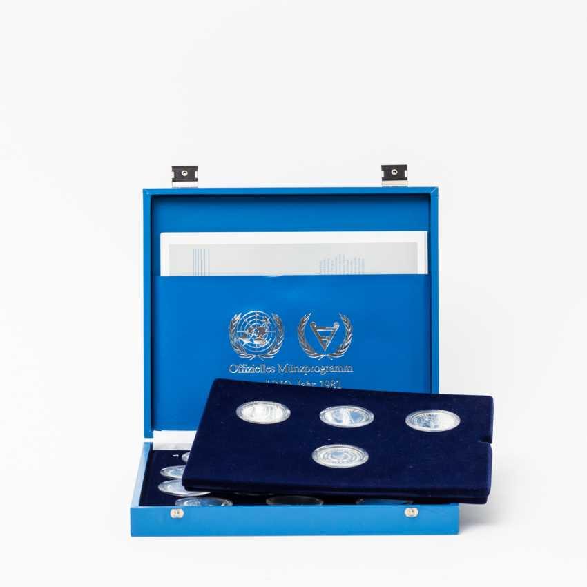 United Nations - UN silver commemorative coins 1981, - photo 1
