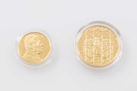Vatican /GOLD - 50 euros + 20 euros in 2006, Pope Benedict XVI, - photo 1