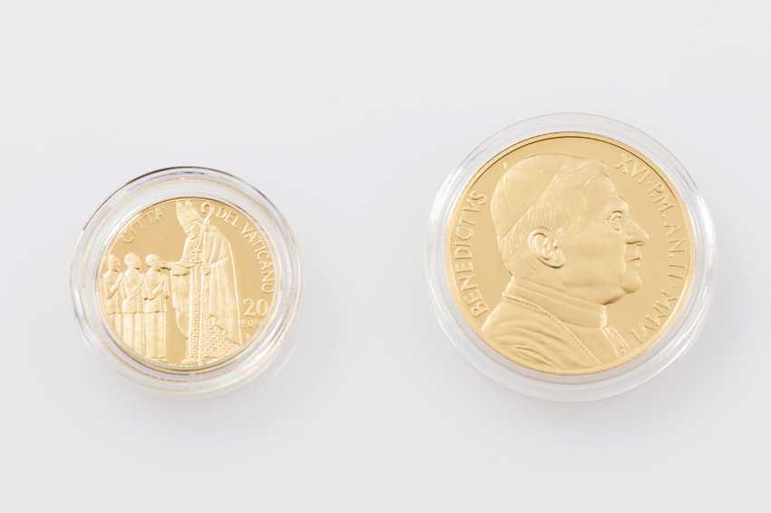 Vatican /GOLD - 50 euros + 20 euros in 2006, Pope Benedict XVI, - photo 2