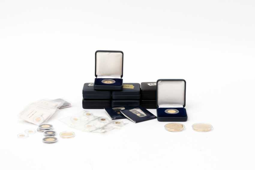 The GOLDEN collection with many mini-gold medals - for example, - photo 1