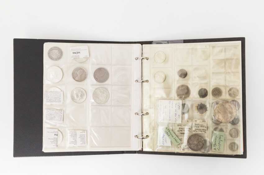 Album with coins, some of the FRG - with 18 x 10 DM, 1 x Austria Maria Theresa Thaler 1780 /NP, - photo 1