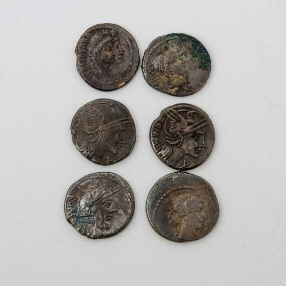 Beautiful set of 6 Antique of the ROM. Republic - for example, - photo 1