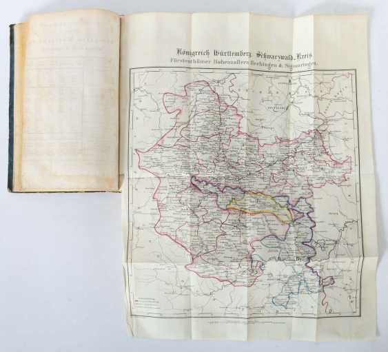 Fischer, A (ugust) Geography, statistics and topography of the Kingdom of Württemberg and the principalities of Hohenzollern-Hechingen and Sigmaringen - photo 6
