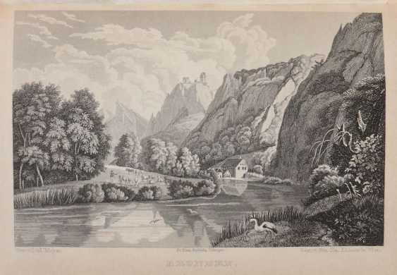 Schwab, Gustav Walks through Swabia, fourth completely revised edition by Dr. Karl Klüpfel - photo 3