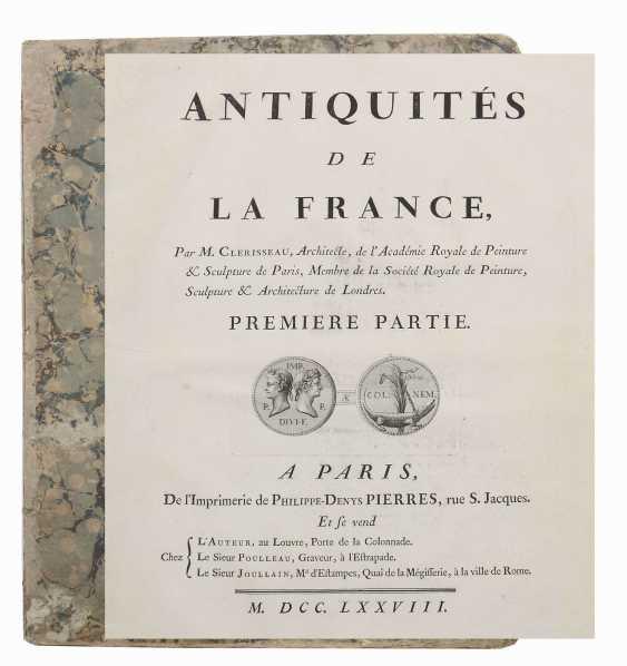 Clérisseau, Charles-Louis Antiquities of France - Monumens de Nismes - photo 7