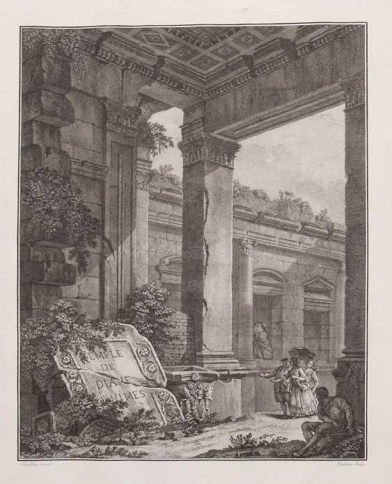 Clérisseau, Charles-Louis Antiquities of France - Monumens de Nismes - photo 9