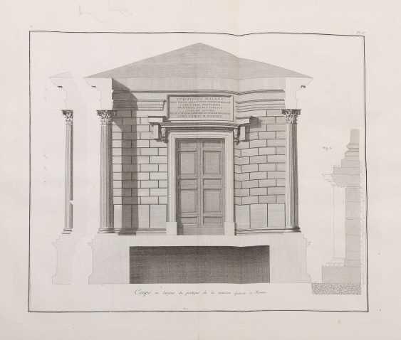 Clérisseau, Charles-Louis Antiquities of France - Monumens de Nismes - photo 11