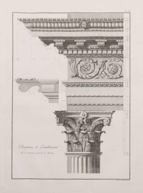 Clérisseau, Charles-Louis Antiquities of France - Monumens de Nismes - photo 1