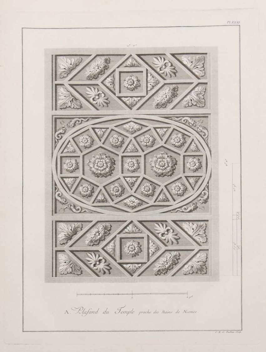 Clérisseau, Charles-Louis Antiquities of France - Monumens de Nismes - photo 4