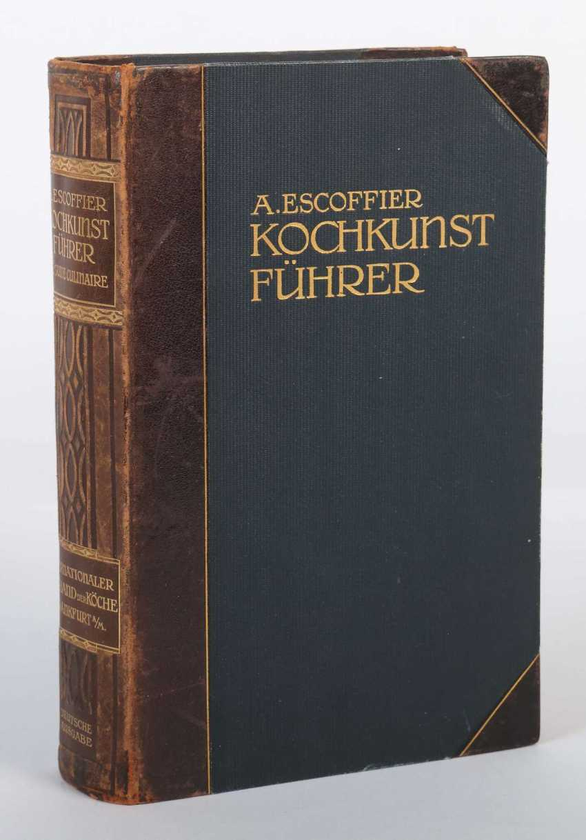 Escoffier, A. Kochkunst-Führer - A manual and reference book of modern French cuisine and fine international cuisine - photo 2
