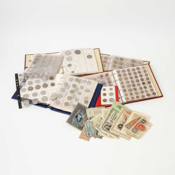 Collection of coins and banknotes All the world, - photo 1