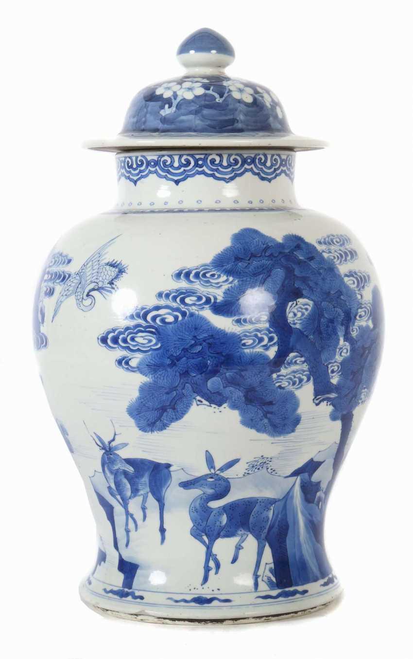 Lid vase China - photo 1