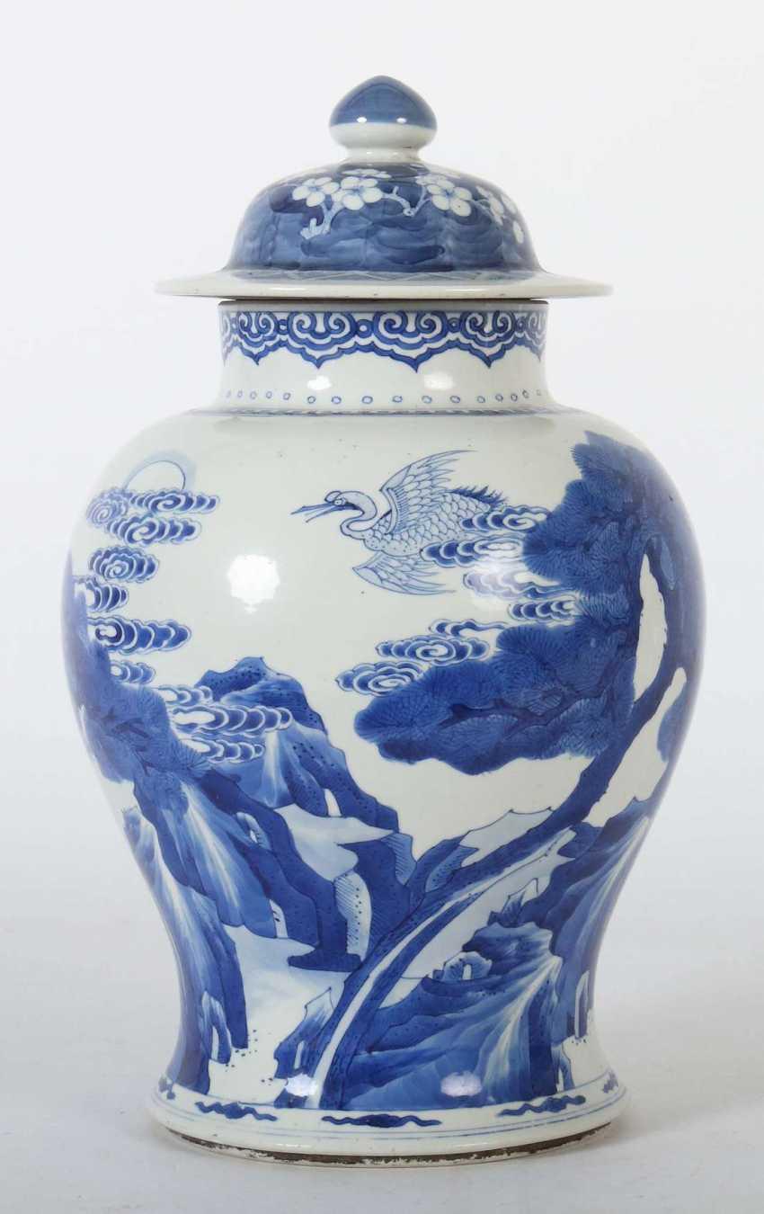 Lid vase China - photo 2