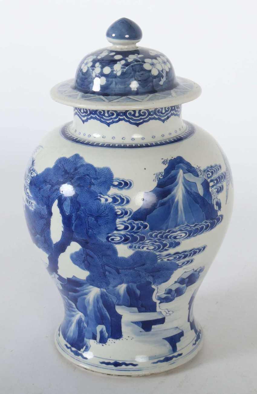 Lid vase China - photo 3