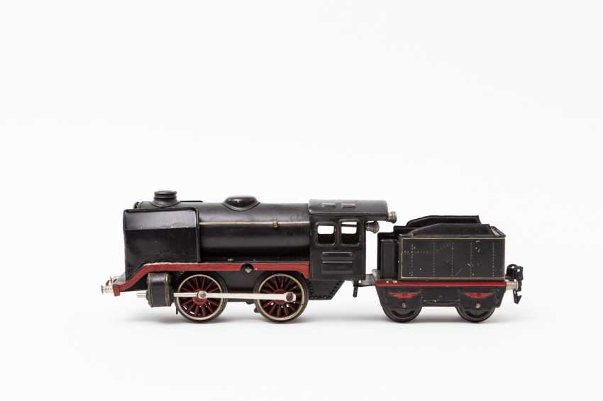 MARKLIN clockwork steam locomotive R 900, track 0, 1938-1940, - photo 1