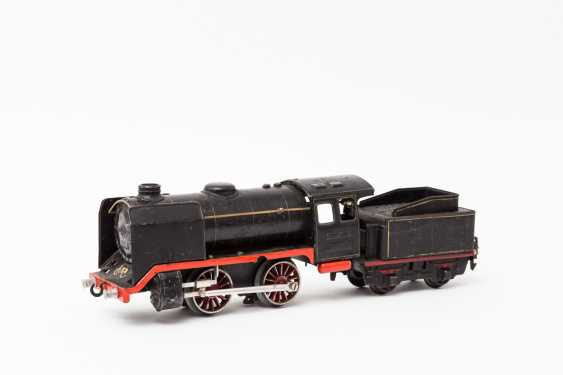 MARKLIN clockwork steam locomotive R 910, on track 0, 1938-1955, - photo 2