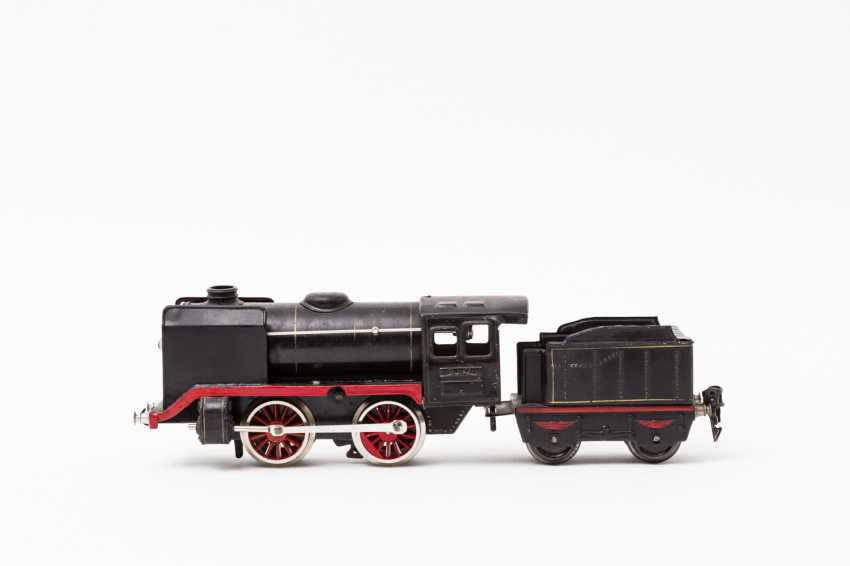 MARKLIN clockwork steam locomotive R 900 B, track 0, 1938-1940, - photo 1