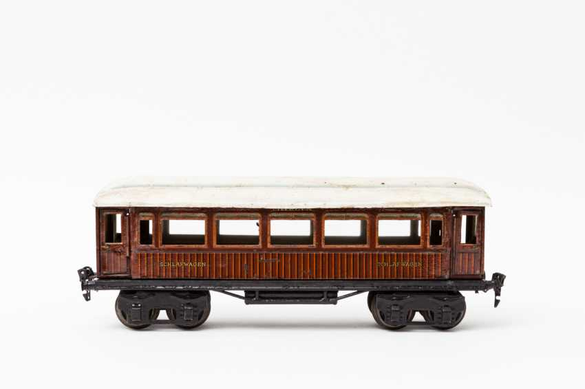 MÄRKLIN, Mitropa-sleeping car, in 1888, Sch / Br, lane 1, 1929-1937, - photo 1