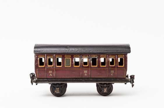 MÄRKLIN, compartment coach, in 1864, lane 1, 1910-1924, - photo 1