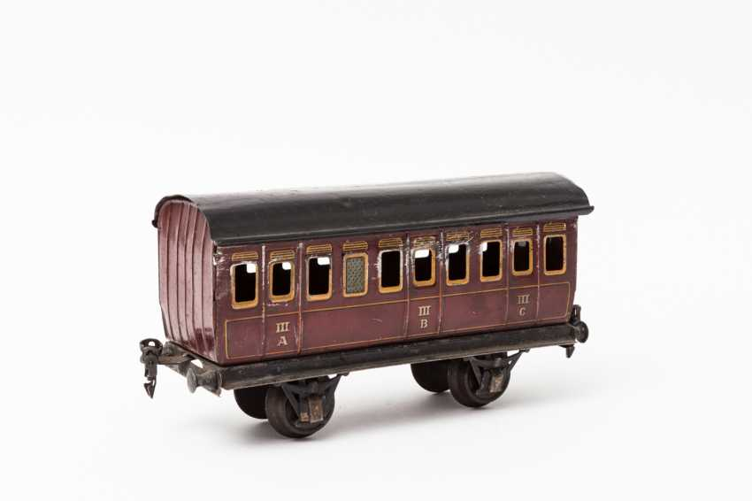 MÄRKLIN, compartment coach, in 1864, lane 1, 1910-1924, - photo 2
