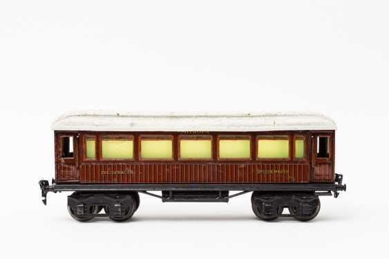 MÄRKLIN, Mitropa-dining car, in 1888, Sp / Br, lane 1, 1929-1937, - photo 1