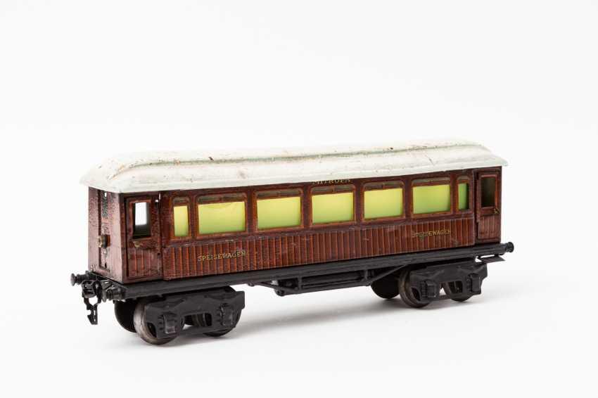 MÄRKLIN, Mitropa-dining car, in 1888, Sp / Br, lane 1, 1929-1937, - photo 2