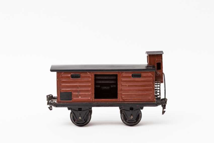 MÄRKLIN open and covered freight wagons, 1918 / in 1967, lane 1, - photo 2