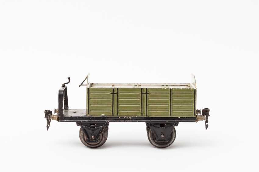 MÄRKLIN open and covered freight wagons, 1918 / in 1967, lane 1, - photo 3