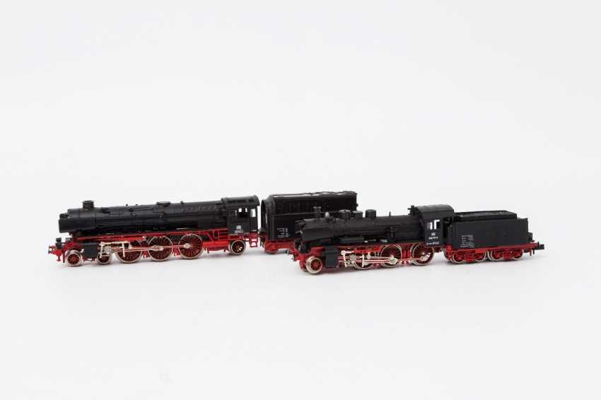 FLEISCHMANN PICCOLO, two t-tender locomotives 7160 / 7171, N, - photo 2