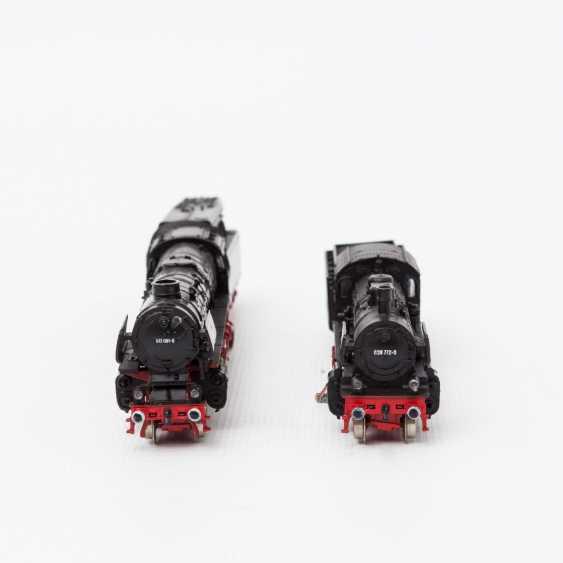 FLEISCHMANN PICCOLO, two t-tender locomotives 7160 / 7171, N, - photo 3