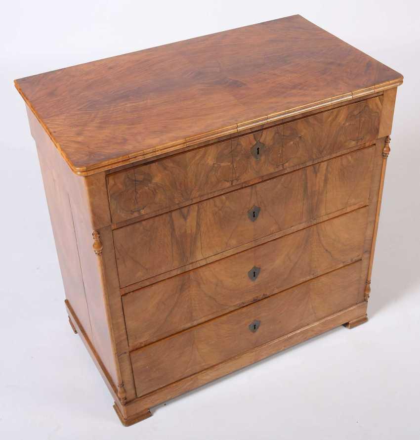 Late Biedermeier chest of drawers around 1840/50 - photo 2
