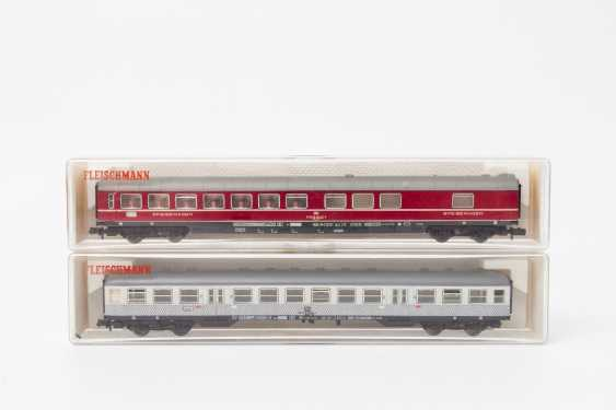 FLEISCHMANN PICCOLO eleven persons & Luggage N gauge wagons, - photo 3