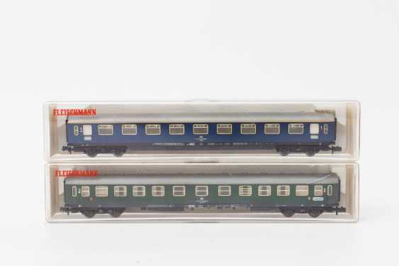 FLEISCHMANN PICCOLO eleven persons & Luggage N gauge wagons, - photo 4