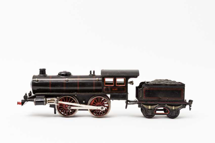 MARKLIN clockwork steam locomotive R 1041, track 1, 1925-1932, - photo 1