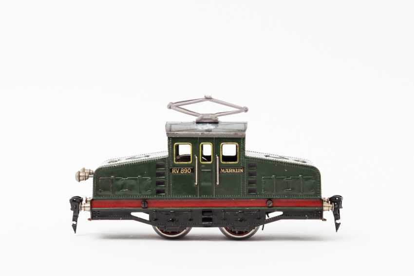 MÄRKLIN clockwork-E-Lok RV 890, track 0, 1932-1953, - photo 1