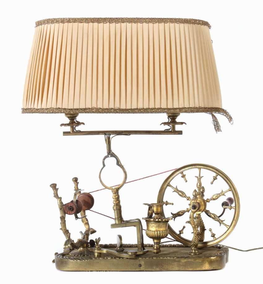Spinning wheel lamp Germany - photo 1