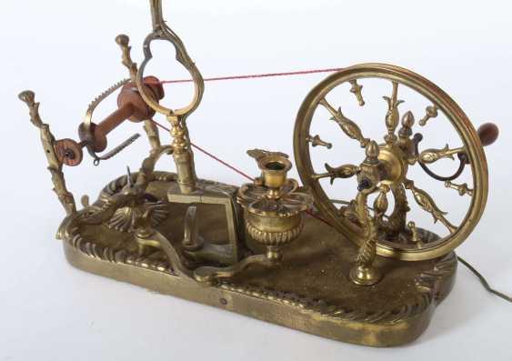 Spinning wheel lamp Germany - photo 2
