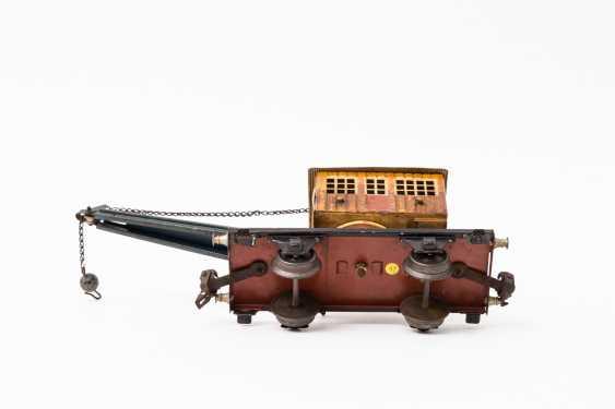 MARKLIN crane car in 1768, track 0, 1933-1939, - photo 3