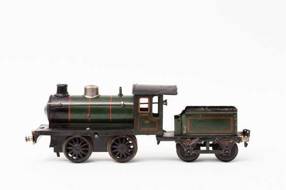 MARKLIN clockwork steam locomotive R 981, track 1, 1925-1926, - photo 1