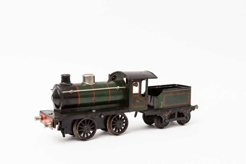 MARKLIN clockwork steam locomotive R 981, track 1, 1925-1926, - photo 2